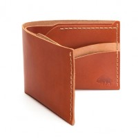Bison Made - Bags and Wallets - Wallet No 6 Cognac