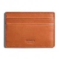 Shinola - Bags and Wallets - 6 Pocket Card Case Natural