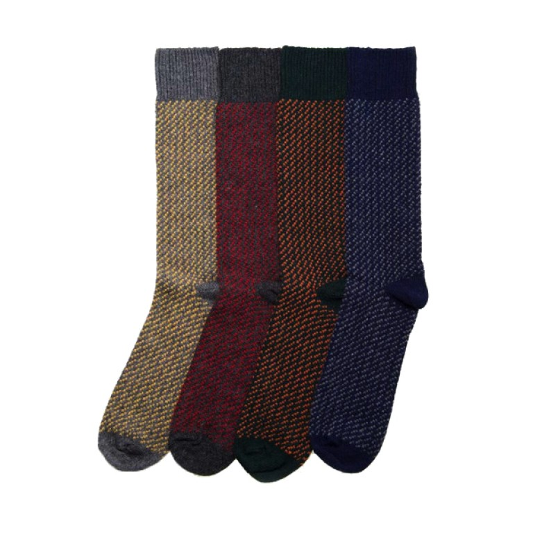 American Trench - Underwear and Socks - 3 Stitch Cashmere Socks 1.16.16