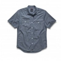Bluer Denim_Categories_Casual Button-Down Shirts_Images_Chambray Short-Sleeve Work Shirt 4.14.15