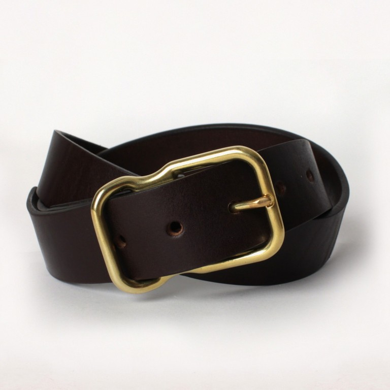 Imogene + Willie - Belts and Suspenders - brown emil erwin signature belt 1.23.16
