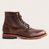 Oak Street Bootmakers - Boots - Brown Trench Boot 1.26.16
