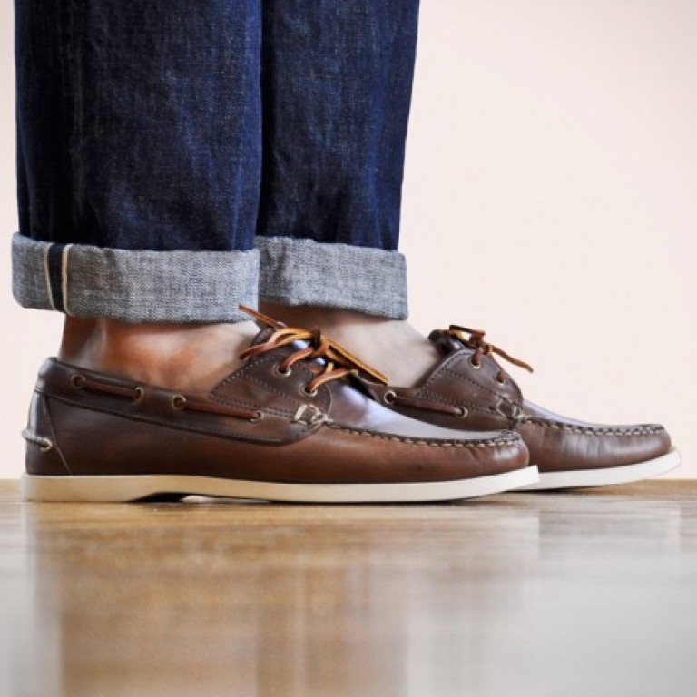 Oak Street Bootmakers - Casual Shoes - Natural Boat Shoe 1.26.15