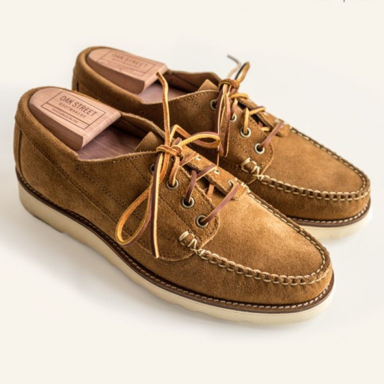 Oak Street Bootmakers - Casual Shoes - Peanut Suede Vibram Sole Trail Oxford 1.26.15