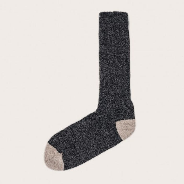 Oak Street Bootmakers - Underwear and Socks - Charcoal Quarry Trail Sock 1.26.16