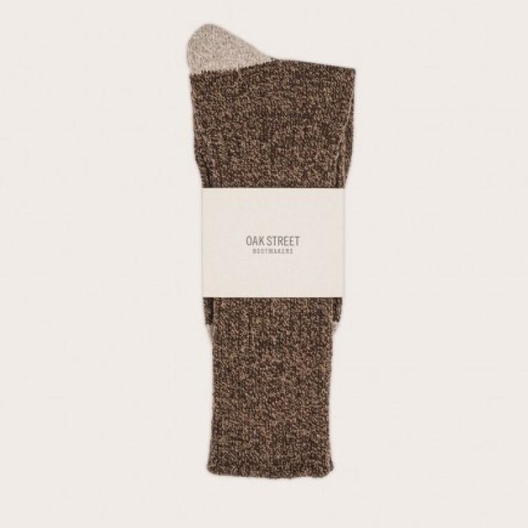 Oak Street Bootmakers - Underwear and Socks - Chestnut Quarry Trail Sock 1.26.16