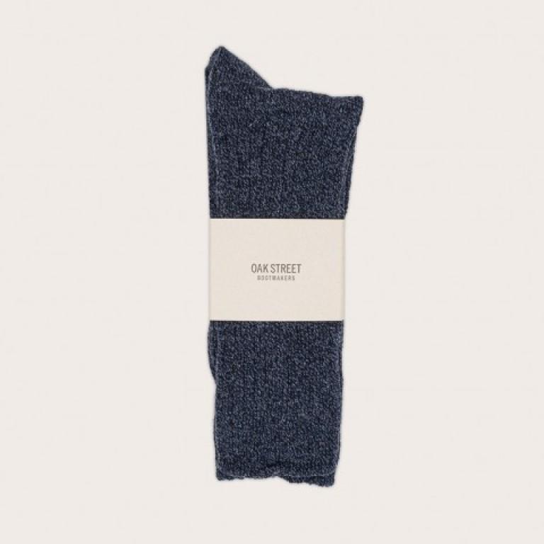 Oak Street Bootmakers - Underwear and Socks - Indigo Trail Sock 1.26.16