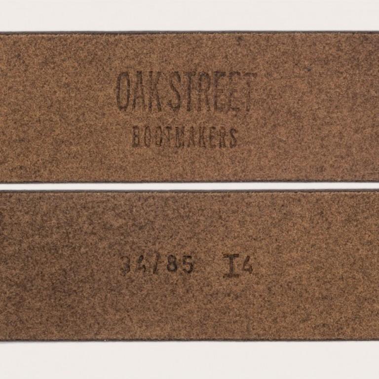 Oak Street Bootmakers_Categories_Belts and Suspenders_Images_brown roller buckle belt2 4.19.15