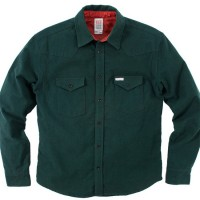 Topo Designs - Casual Button-Down Shirts - Mountain Shirt - Flannel - Forest Green