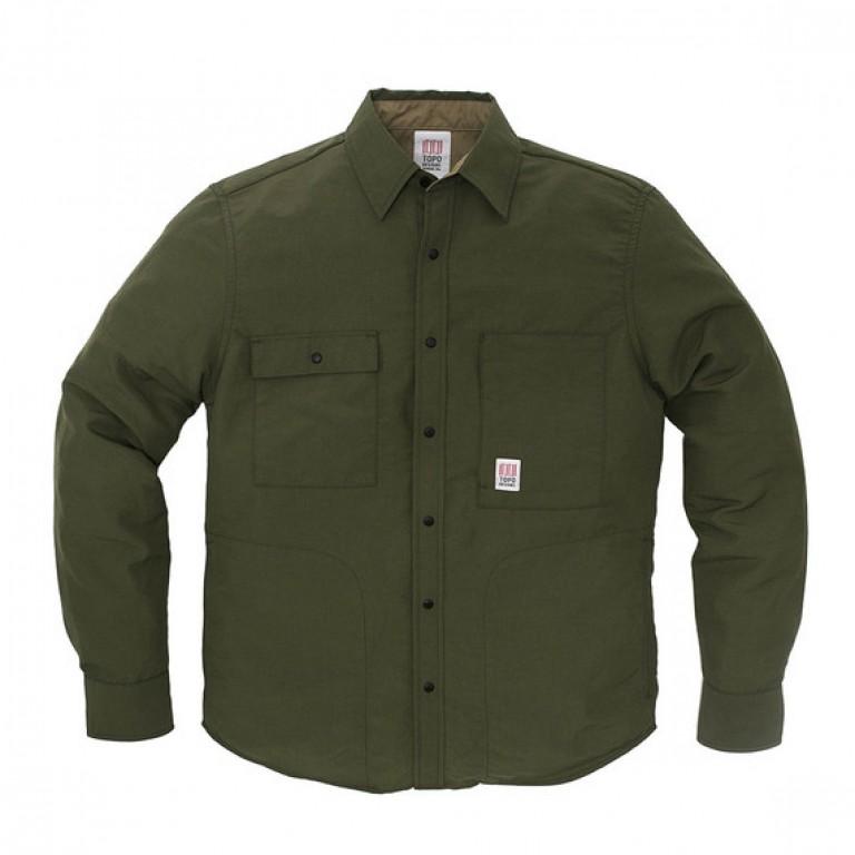 Topo Designs - Coats and Jackets - Breaker Shirt Jacket Olive
