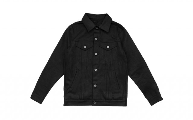 3sixteen - Coats and Jackets - Type 3s Denim Jacket Double Black