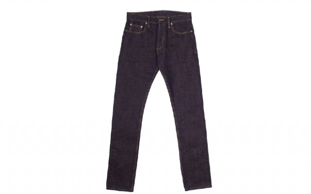 3sixteen - Jeans - ST-140X - Slim Tapered - Heavyweight Brown Weft