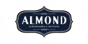 Almond Surfboards Logo Rectangle 2