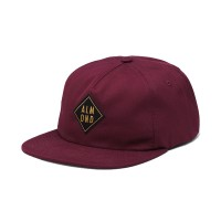 Almond Surfboards - Scarves, Hats and Gloves - Diamond Patch Hat Maroon