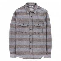 Aloha Sunday - Casual Button-Down Shirts - Alexander Blue_Charcoal