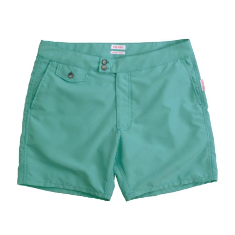 Aloha Sunday - Swimwear - Lanikai 16in Turquoise Swim Shorts