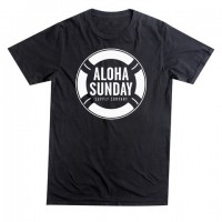 Aloha Sunday - T-Shirts - Lifesaver Black