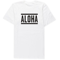 Aloha Sunday - T-Shirts - Lines White