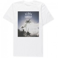 Aloha Sunday - T-Shirts - Pamai White