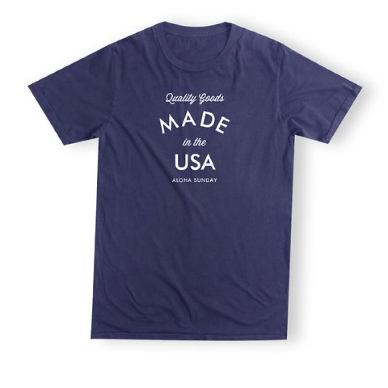 Aloha Sunday - T-Shirts - Quality Navy