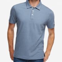 American Giant - Polos - Classic Polo Cadet Blue