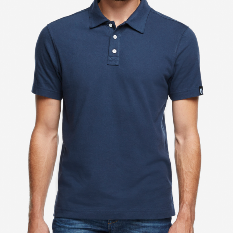American Giant - Polos - Classic Polo Navy