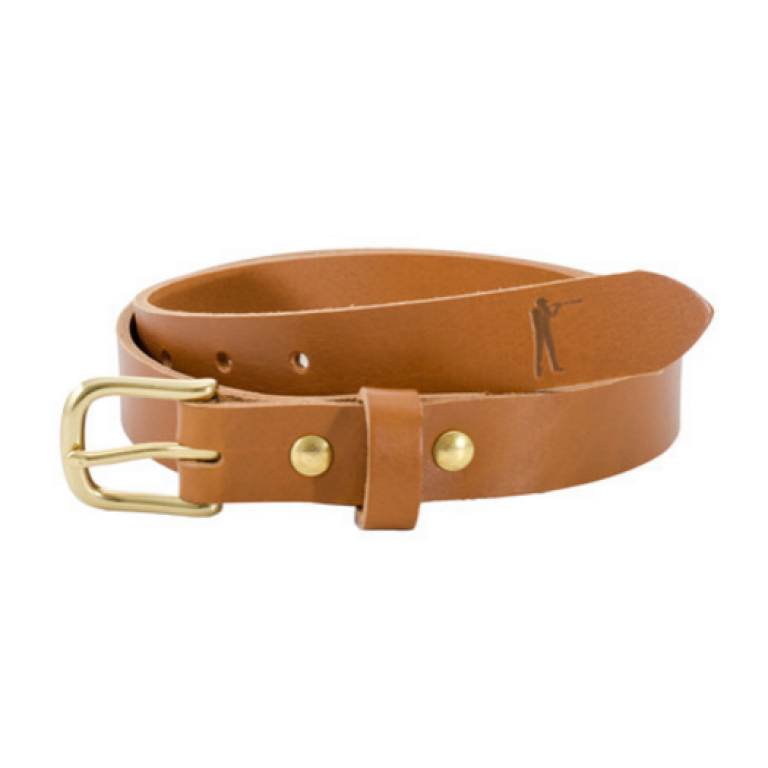 Ball and Buck - Belts and Suspenders - The-Premium-Leather-Belt-Tan