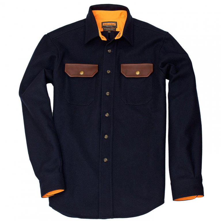 Ball and Buck - Casual Button Down Shirts - The-Mariners-Overshirt-Navy