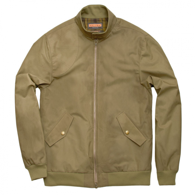 Ball and Buck - Coats and Jackets -The-Harrington-Jacket-Khaki