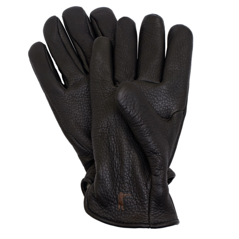 Ball and Buck - Gloves - Deeskin-Leather-Gloves-Pile-Lined-Black