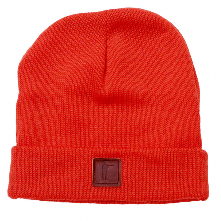 Ball and Buck - Hats - Roger-Knit-Hat-Wool-Orange