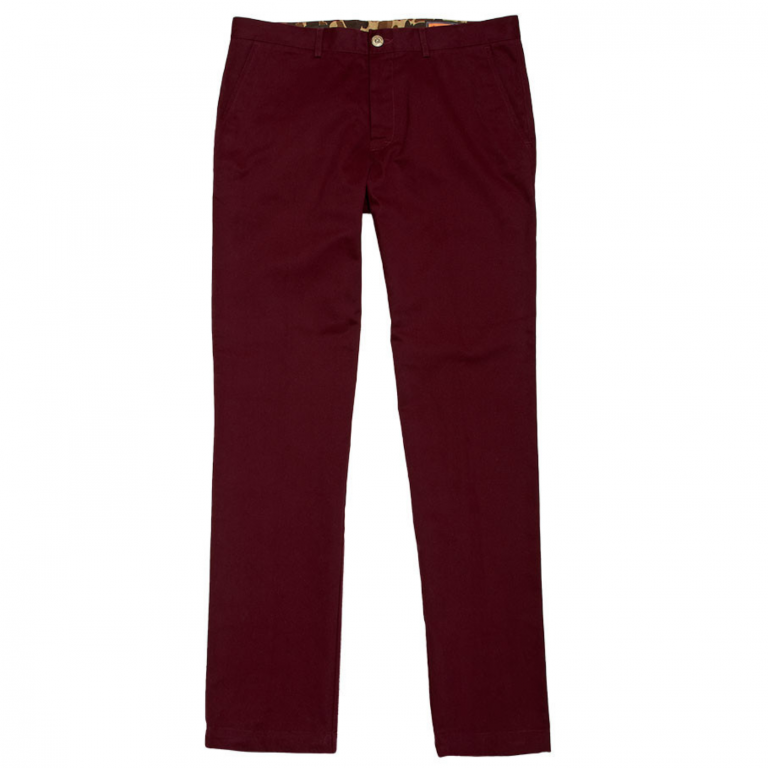 Ball and Buck - Pants -The-6-Point-Pant-Burgandy