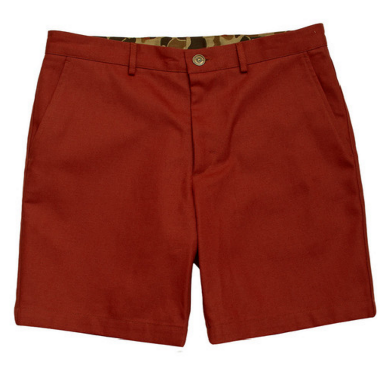 Ball and Buck - Shorts -The-6-Point-Duck-Cotton-Short-Rust