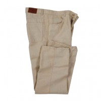 Bills Khakis - Jeans - Linen 5 Pocket Jeans Khaki