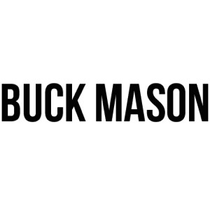 Buck Mason Logo white background