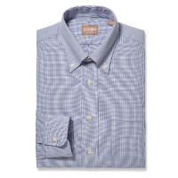 Gitman Bros - Dress Shirts - Button Down Graph Check Navy