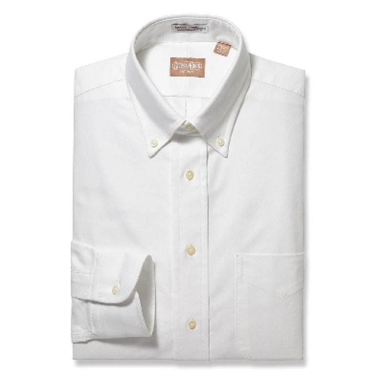 Gitman Bros - Dress Shirts - Button Down Oxford White