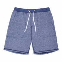 Goodlife - Athletic - Flecked Terry Short Navy