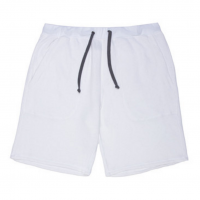 Goodlife - Athletic - Flecked Terry Short White
