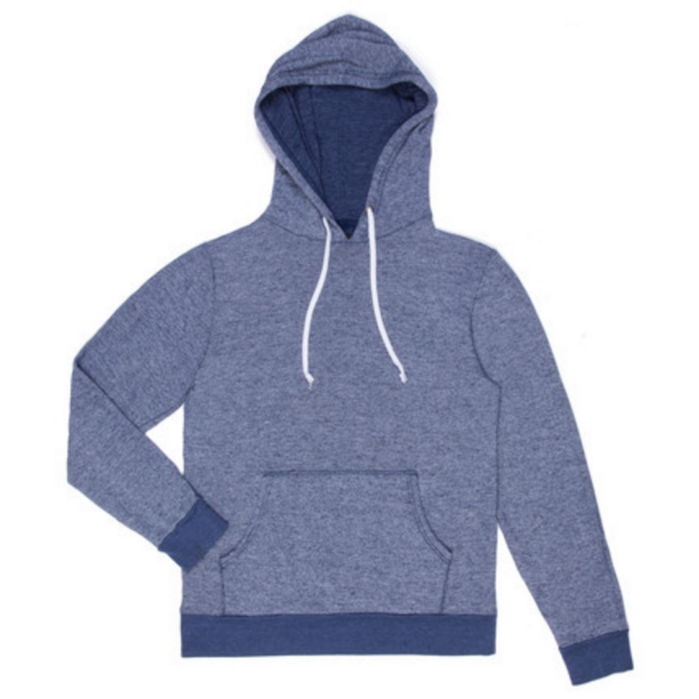 Goodlife - Sweatshirts - Flecked Terry Pullover Hoody Navy