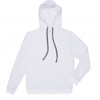 Goodlife - Sweatshirts - Flecked Terry Pullover Hoody White