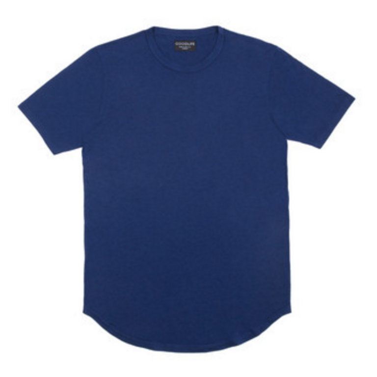 Goodlife - T-Shirts - Core Scallop T-Shirt Navy