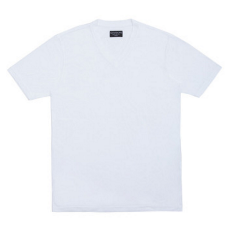 Goodlife - T-Shirts - Core Vneck T-Shirt White
