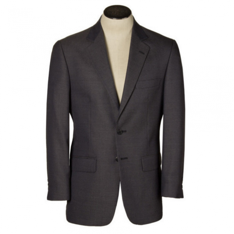 Hardwick - Suits and Sportcoats - Bristol Navy Charcoal Check Wrinkle Resistant Sport Coat