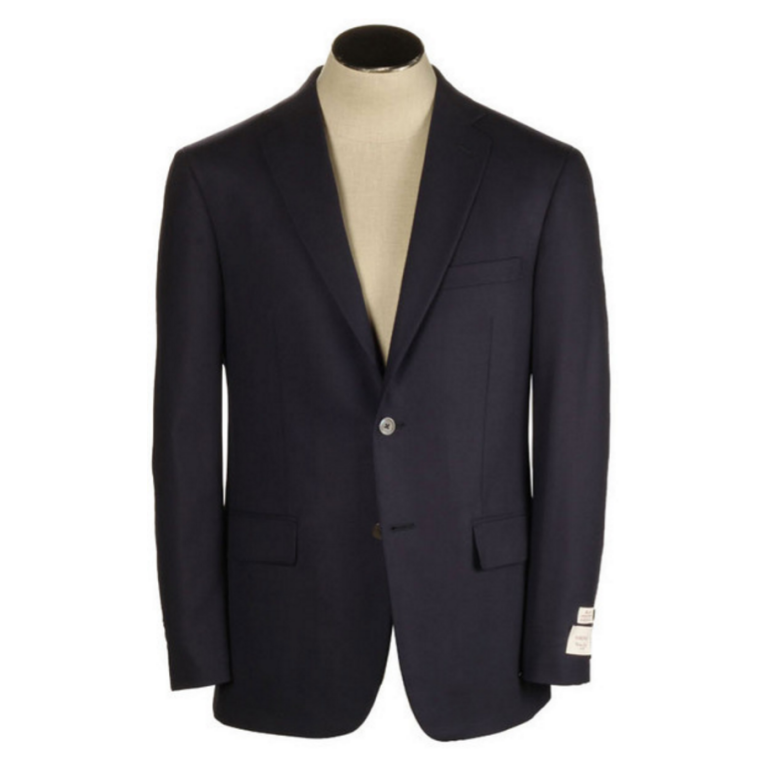 Hardwick - Suits and Sportcoats - Navy H-Tech Travel Blazer