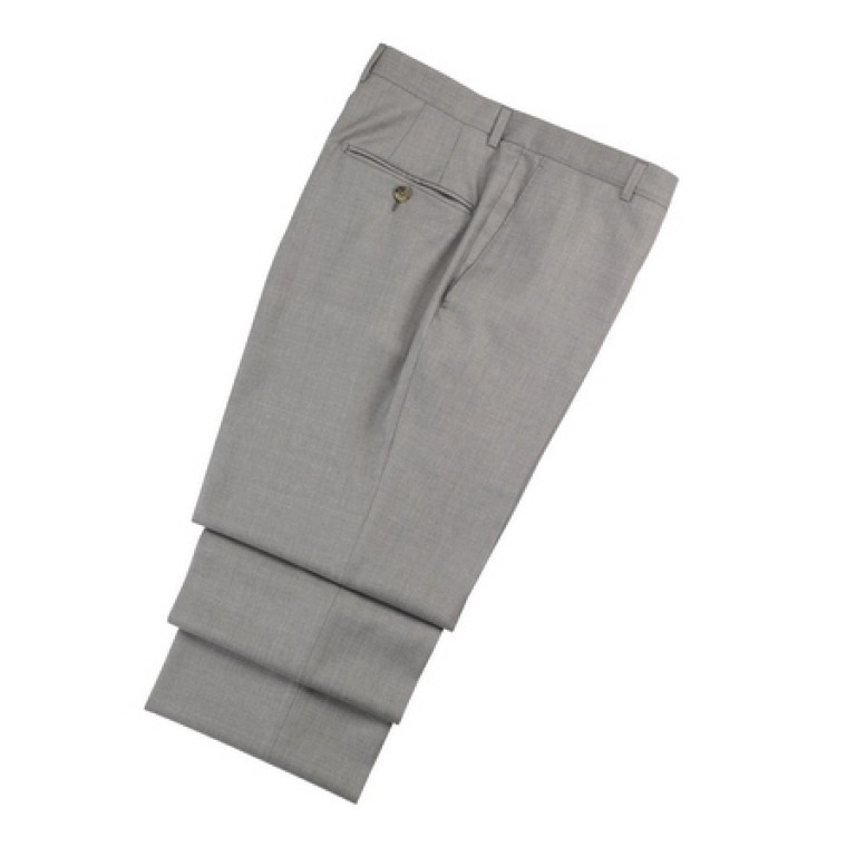 hickey freeman dove grey silk dream summer trousers