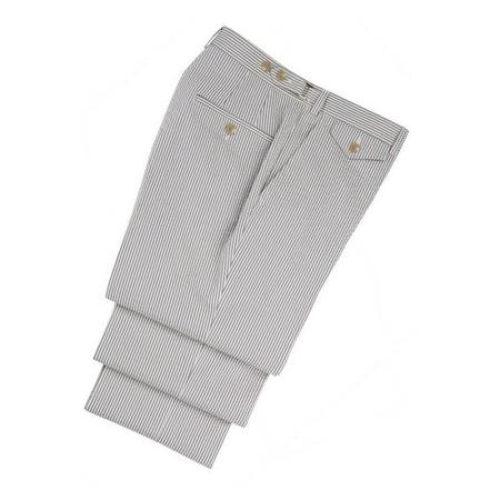 hickey freeman blue seersucker trousers