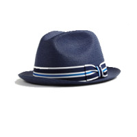hickey freeman indigo braided straw trilby