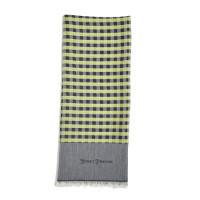 hickey freeman lime gingham scarf