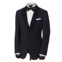 hickey freeman navy jacquard dinner jacket